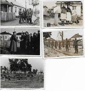 1940/44 - SARNY, 5 Orginal Foto 10X7 Und 9X6cm. 2 Scan - Ucraina