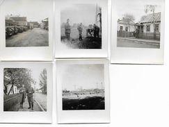 1940/44 - SARNY, 5 Orginal Foto 6,5X7,5cm. 2 Scan - Ucraina