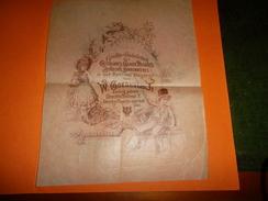 PUBLICITE ANCIENNE CHOCOLAT CACAO DESSERTS W. GOEDHUIJS JR - Chocolate