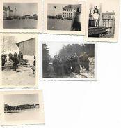 1940/44 - SARNY,  6 Orginal Foto 9X6 Und 7X5,5cm. 2 Scan - Ucraina