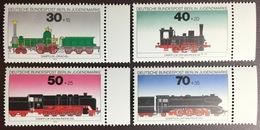 Germany Berlin 1975 Trains Railways MNH - Nuevos