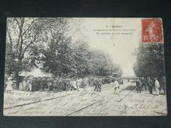 SAINT SEVER DE SAINTONGE / ARDT SAINTES 1905  LA GARE DE BEILLANT INAUGURATION DU PONT LE 30 AVRIL  CIRC - Andere Gemeenten