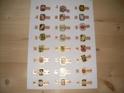 Sigarenbanden Cogetama Serie Orchidee 24 St - Bagues De Cigares