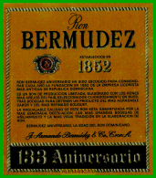 ETIQUETA  BODEGAS  J.ARMANDO BERMUDEZ  JEREZ DE LA FRONTERA - Etiquetas