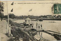 CPA (sport Nautique)  NOGENT SUR MARNE PLAGE  Cercle De La Voile  De Nogent Joinville  ( Boite 14) - Cartes Postales