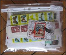 Départ 1 Euro (lot 5a) THEMATIQUE Collection De 100 BLOCS Séries  Forte Cote Animaux Faune Fleurs (Animals  Fauna Flower - Sammlungen (ohne Album)