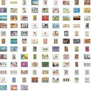 Départ 1 Euro (lot 2a) THEMATIQUE Collection De + 100 Blocs  Forte Cote Jeux Olympiques (olympic) De Gaulle  Tableau (ta - Sammlungen (ohne Album)