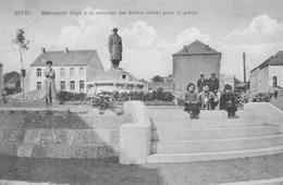 Sivry.------ Monument  érigé à La Memoire Des Braves Morts Pour La Patrie+scan - Sivry-Rance