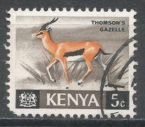 Kenya 1966. Scott #20 (U) Thomson's Gazelle - Kenya (1963-...)