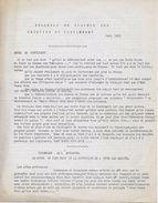 Guerre D'Algérie : Bulletin Liaison Médecins Du Contingent Juin 1962 (OAS-Pieds Noirs-ALN ....) - Algeria (1962-...)