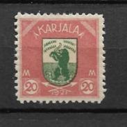 1922 MH Karjala - Finland