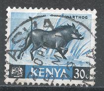 Kenya 1966. Scott #24 (U) Warthog - Kenya (1963-...)
