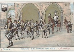 B 1374  SIENA  COMPARSA DELLA CONTRADA DELLA LUPA - Siena