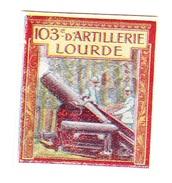 Vignette Militaire Delandre - 103ème Régiment D'artillerie Lourde - Erinnophilie