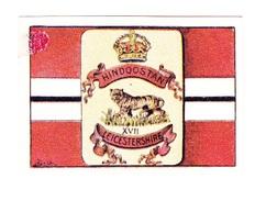 Vignette Militaire Delandre - Angleterre - Hindoostan - Leicestershire - Erinnofilia