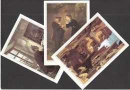 Germany / Painting / Art / 500 Years Of Post / 500 Jahre Post - Postal Services