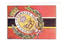 Vignette Militaire Delandre - Angleterre - York & Lancaster - Erinnofilia