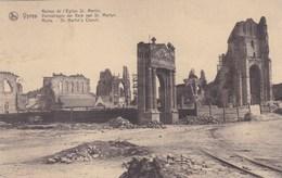 Ieper, Ypres, Ruines, Ruins, De L'Eglise St Martin (pk38253) - Ieper