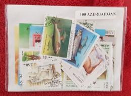 AZERBAIDJAN Lot De 100 Timbres Tous Differents Neufs Et Oblitérés. Satisfaction Assurée - Azerbaïdjan