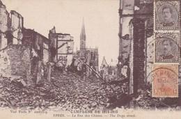 Ieper, Ypres, Ruines, Ruins, La Rue Des Chiens (pk38269) - Ieper