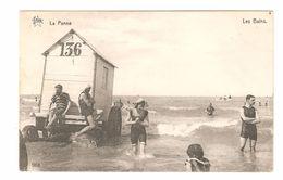 De Panne - Les Bains - Cabine - 1919 - Uitgave De Grave Gand - De Panne