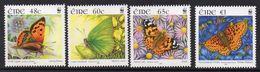 WWF Ireland Irland Eire Butterflies Masiposa Papillons Schmetterlinge   2005 4v MNH - W.W.F.