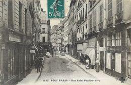 PARIS RUE SAINT-PAUL 75004 - Arrondissement: 04