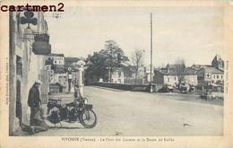VIVONNE PONT DES CARMES ROUTE DE RUFLEC 86 - Vivonne