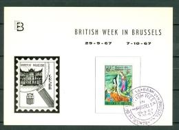 Belg. 1432 British Week In Brussels 29-9-67  7-10-67 - 1961-1970