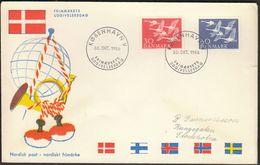 Denmark 1956 / Norden Day / Joint Issue / Whooper Swans / Cygnus Cygnus - Joint Issues
