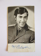Ilie Nastase In The Uniform Of The Romanian Army Infantry Captain-pocket Calendar With Autograph From 1973 - Calendars