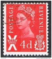 Scotland SG S10 1969 4d Red Good/fine Used - Regional Issues