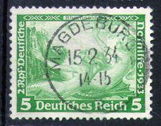 ALEMANIA REICH-Mi. 501-Yv. 472 -N-10418 - Oblitérés