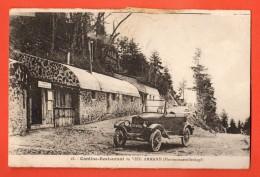 IBZ-17 Hartmannswillerkopf, Cantine Du Vieil Armand, Tampon Au Dos, Gribouillages Au Dos - Other Municipalities