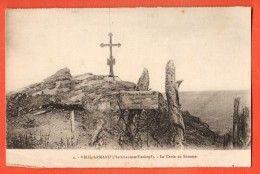 IBZ-18 Hartmannswillerkopf, Vieil Armand, La Croix Au Sommet Tampon Au Dos, De La Cantine, Pli Angle - Sonstige Gemeinden