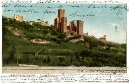 Salsomaggiore - Castell' Arquato - Viaggiata 1906 - 9x14cm. - 2 Foto - Italia