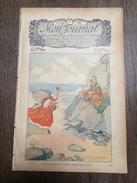 MON JOURNAL 37 1911 ILLUSTRATION FELIX LORIOUX PRIMEROSE ET POMPONNET POUPONNIERE DE M GEORGE HOXTON - Magazines