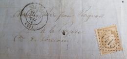 LOT R1495/8 - CERES N°59 (LAC) GC 1415 : ESPALION (Aveyron) INDICE 3 à ST CHELY D'AUBRAC - Cote : 25,00 € - 1871-1875 Cérès