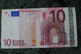 10 EURO Z BELGIUM DUISENBERG SERIE T001H1 - EURO