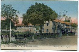 - 9 - LAGOS -, Southern Nigéria, Sanitary Office, épaisse, écrite En 1921 De Ouidah,  Coins Ok,TTBE, Scans. . - Nigeria