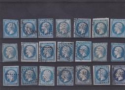 Timbre N° 14A°  (plaque De 21) - 1852 Louis-Napoléon