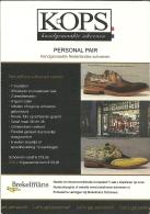 Chaussure Schoe Shoe Kops / Publicity Card 10x14cm - Cartes Postales