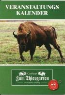 Zum Tiergarten Tierpark Sababurg Hofgeismar / Bison Viande Vlees Meat Gauffre Wafel Waffel - Calendriers