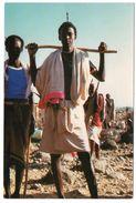 DJIBOUTI - GUERRIER DJIBOUTIEN / WARRIOR/ THEMATIC STAMP-ART - Gibuti