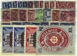 CZECHOSLOVAKIA REVENUES, Collection, */o M/U, F/VF - Tsjechoslowakije