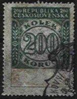 CZECHOSLOVAKIA REVENUES, Documentary, Used, F/VF - Tchécoslovaquie