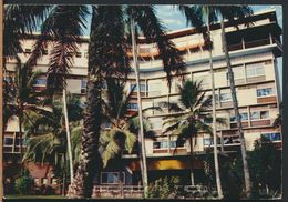 °°° 6566 - CAMEROUN - DOUALA - HOTEL DES COCOTIERS - 1967 With Stamps °°° - Camerun