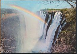 °°° 6570 - ZAMBIA - VICTORIA FALLS - 1971 With Stamps °°° - Zambia