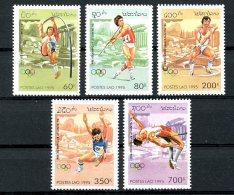Laos, 1995, Olympic Summer Games Atlanta, Sports, MNH, Michel 1455-1459 - Laos