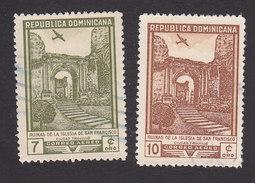 Dominican Republic, Scott #C70-C71, Used, Ruins, Issued 1949 - Dominican Republic